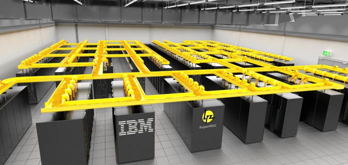 Supercomputer SuperMUC, Bild der TUM