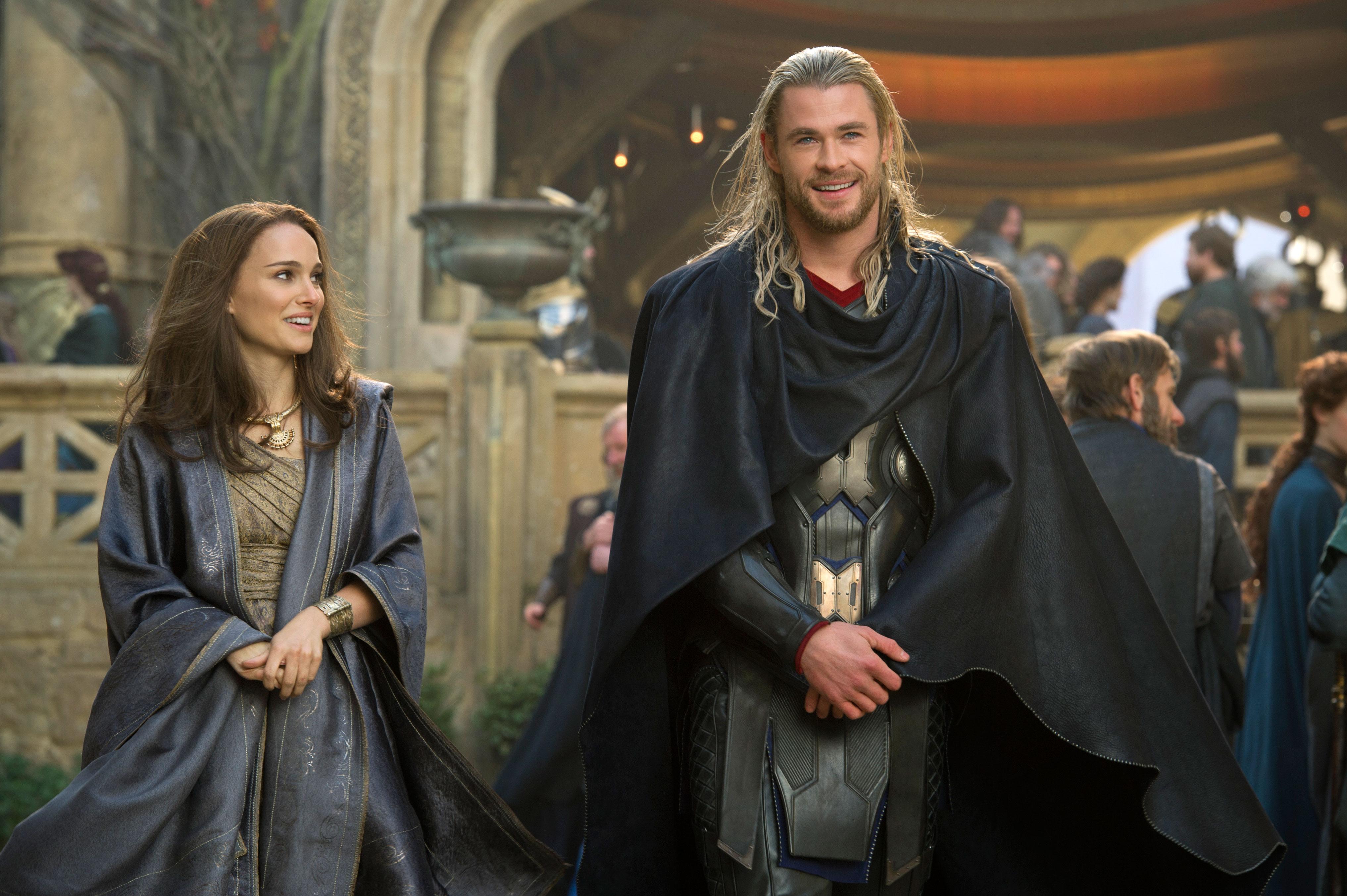 Dank Thor darf Jane Foster sogar in Asgard spazieren gehen